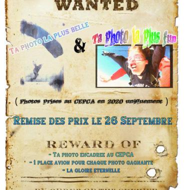 Affiche concours photo